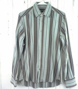 Ted Baker Size Sm.-Med. Dress Shirt Long Sleeve